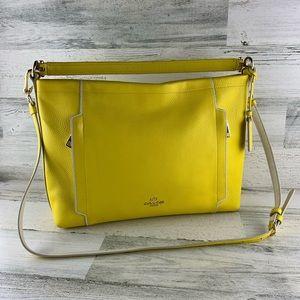 COACH Yellow Scout Hobo Crossbody/Shoulder Bag